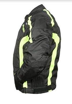 Mens New Armoured WaterProof Textile Motorbike Motorcycle Cordura Jacket