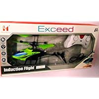 Sk Toys Exceed Helicopter with Remote for Up and Down Movement Plus Hand Sensor for Upward Movement Only