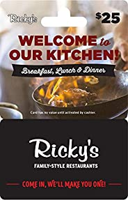Ricky's Grill Gift
