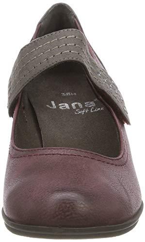 Para Mujer 21 bordeaux Rojo Tacn Softline Zapatos 549 24366 De qpwx4TFH