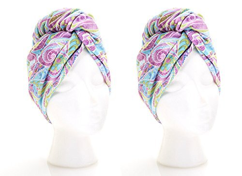 Turbie Twist Microfiber Hair Towel (2 Pack) Paisley by Turbie Twist