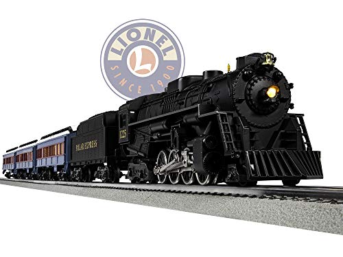 (Lionel The Polar Express Electric O Gauge Model Train Set w/ Remote and Bluetooth Capability)