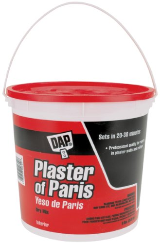 Dap 10310 Plaster of Paris Tub Molding Material, 8-Pound, White -