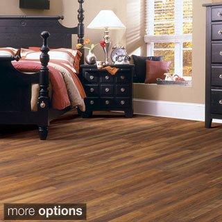 American Laminate Flooring Cherry - SHAW INDUSTRIES INC. Shaw Natural Impact II Laminate Flooring (26.4 Sq Ft) Pecan