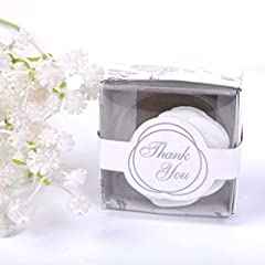 AiXiAng Handmade Soap Favors are USA FDA Registed CPIS#: F1127250 . Sweetly scented and delightfully detailed sharped Packaged in a palm size, beautifully detailed gift box for easy gift giving . Most natural ingredients ,Rich in glycerin, mo...