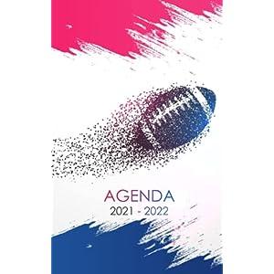 Agenda 2021 - 2022: Organisateur et planificateur Rugby trés cool pour étudiants Collège et Lycée | Journalier et… 3