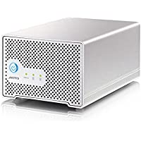 Akitio Neutrino Thunder Duo with 2TB HDD (1TB x 2)