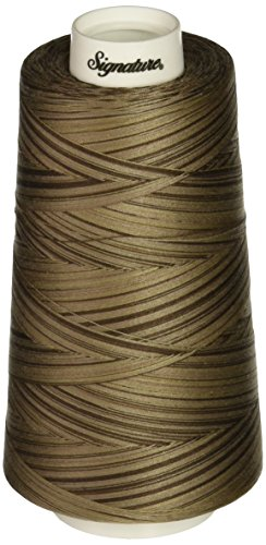 - Signature Taupe Thread, 40wt/3000 yd, Variegated