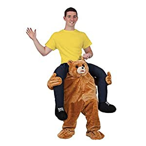"""""""Carry Me"""" Mascot - TEDDY Costume Animal Funny Fancy Dress"""