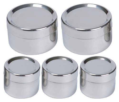 1204324d70ef To-Go Ware Stainless Steel Snack Containers - Tiffin Sidekick - 5 ...