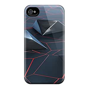 Hot Snap-on Razr Lava Hard Cover Case/ Protective Case For Iphone 4/4s