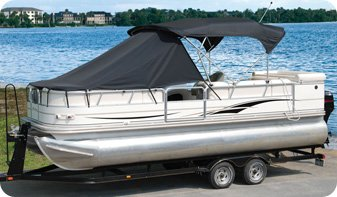 Taylor Made Products 12009OS Pontoon Playpen Shade, Bow Area Cover by TAYLOR MADE PRODUCTS