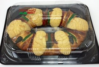 Three Kings Cake - Kings Day Mexican Sweet Bread - (Large) - 28 oz