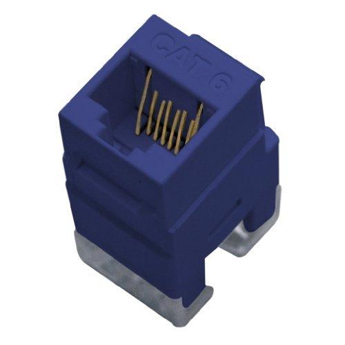 OnQ / Legrand WP3460BE Cat 6 RJ45 Keystone Connector, Blue by On Q [並行輸入品] B00VVZ5TU4