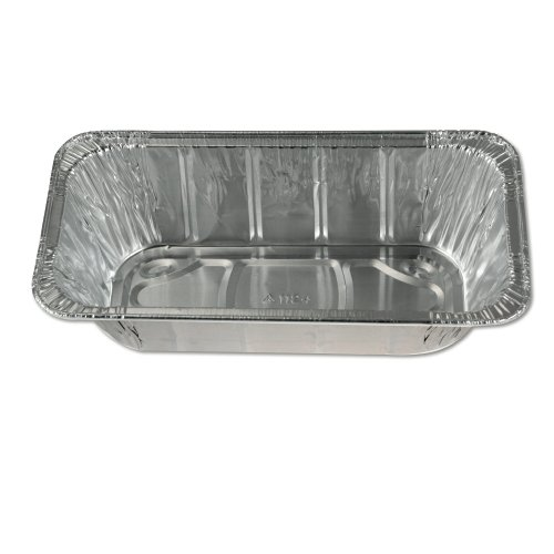 "Reynolds RC1149 2-1/32"" Height, 120 fl oz Half Size Steam Table Deep Aluminum Pan (Case of 100)"