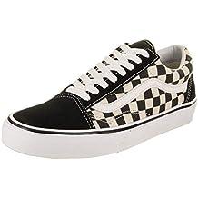 Vans Unisex Old Skool (Primary Check) Skate Shoe