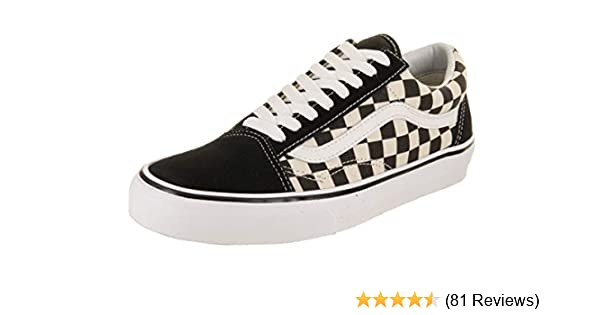 798b12ace409 Amazon.com  Vans Unisex Old Skool (Primary Check) Black White VN0A38G1P0S  Skate Shoes  Shoes