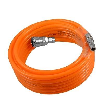 uxcell 8mm x 5mm Polyurethane PU Air Compressor Hose Tube Orange 9M 29.5Ft