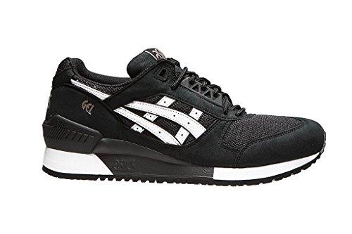 Nero Sneaker Black Gel Bianco ASICS Respector Uomo 4qXzw5