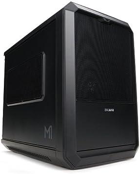 Zalman M1 Carcasa de Ordenador Mini-Tower Negro - Caja de Ordenador (Mini-Tower, PC, Mini-ITX, Negro, 1x 120 mm, 1x ...