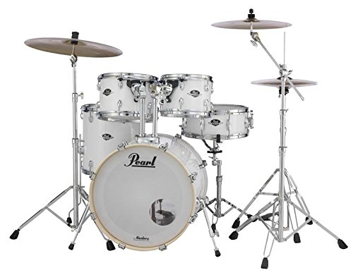 Pearl Export EXX New Fusion 5-Piece Drum Set with Hardware - Pure (Demonator Bass)