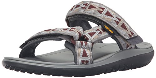 Teva Men's Terra - Float Slide Sports and Outdoor Lifestyle Sandal Grey (Mosaic Grey/Chocolate- Mgch) t3sjJRA