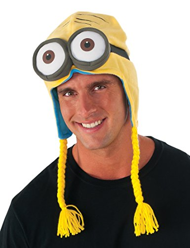 [Rubie's Costume Co Men's Minion Laplander Hat, Multi, One Size] (Adult Minions Costumes)