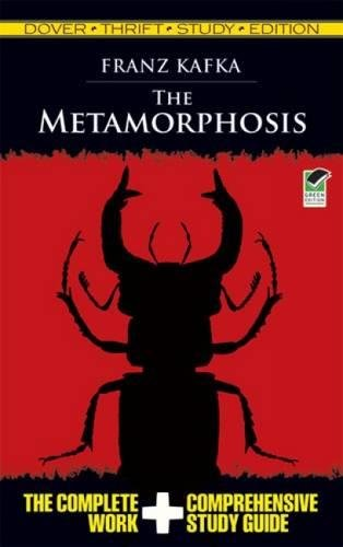 Book cover for The Metamorphosis