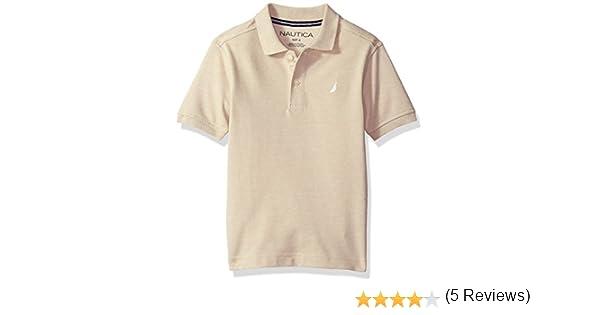 Nautica Varones Camisa Polo - Beige -: Amazon.es: Ropa y accesorios