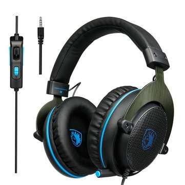 R3 Gaming Bass Surround Stereo Over Ear Game Headset with Microphone Volume Control - Earphones & Speakers On-ear & Over-ear Headphones