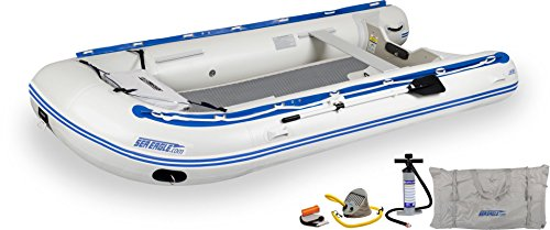Eagle Sport Sea Runabout - Sea Eagle 14SRKDT Transom Stop Stitch Deluxe Sport Runabout Boat Packages