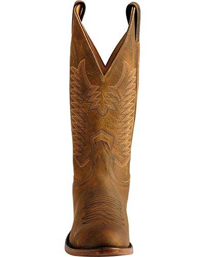 Boulet Mens Cowboykänga Mediet Tå Bärnsten Brn 10 D (m) Oss