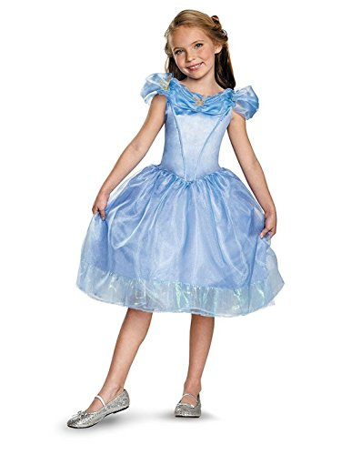 Disguise Cinderella Movie Classic Costume, Large (10-12) ()