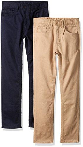 American Hawk Boys 2 Pack: Five Pocket Twill Pants