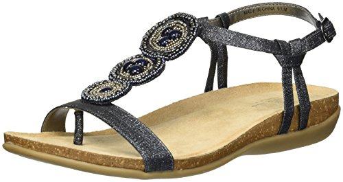 Bandolino Women's Hamper Sandal, Storm, 9 M (Hampers Shop)