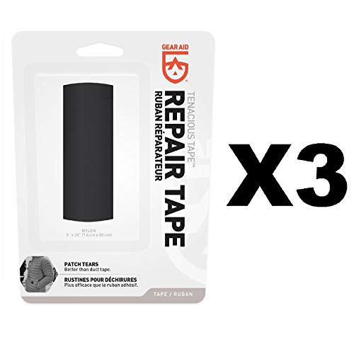 Gear Aid Tenacious Tape Repair Tape Black 3
