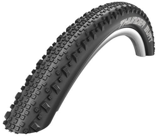 Schwalbe Thunder Burt Folding Bead Race Guard Tire, 26 x 2.1-Inch - Folding Bead Race
