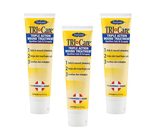 - (3 Pack) Farnam Tri-Care 3-Way Wound Treatment 4-Ounce Each