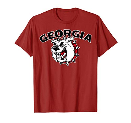 Georgia Bulldog T-shirt (Mens Georgia Bulldogs Tshirt)