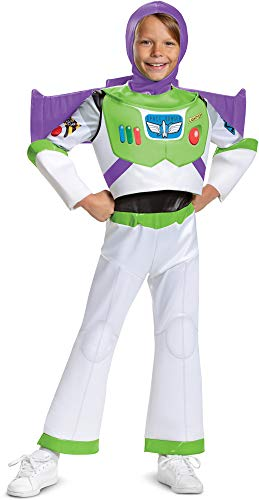 Boy's Disney Deluxe Toy Story 4 Buzz Lightyear Costume Exclusive Large 10-12