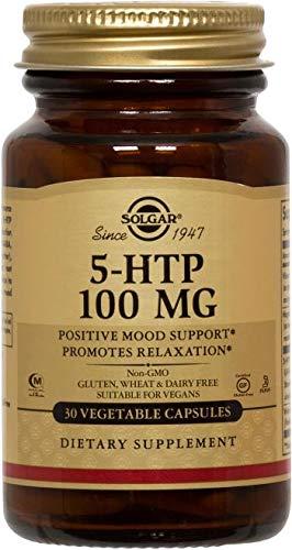 Solgar – 5-HTP 100 mg, 30 Vegetable Capsules