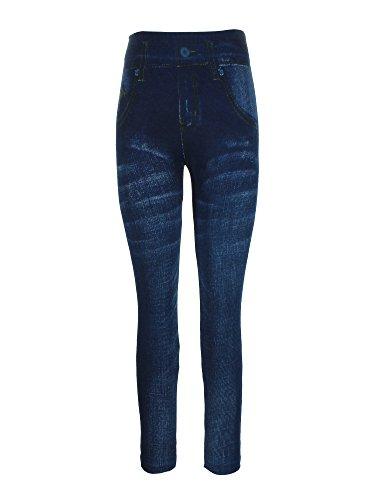 Crush Printed Skinny Seamless Leggings