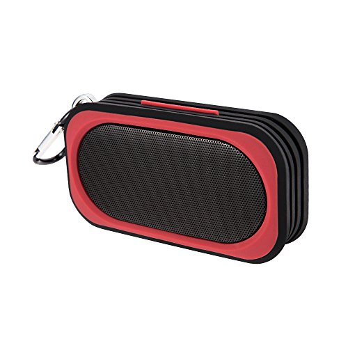 Proxelle Surge Mini Wireless IP67 Waterproof Bluetooth V4.0 Speakers with Built-in Microphone