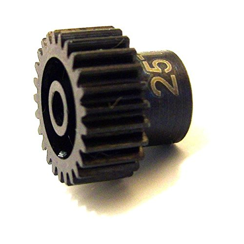 Hot Racing CSG1825 25t 48p Hardened Steel Pinion Gear 1/8 Bore