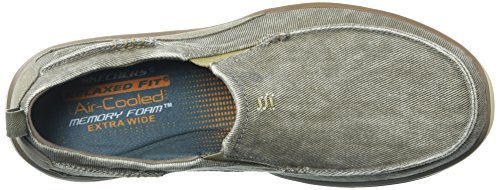 Skechers Heren Relaxed Fit-elected-drigo Loafer Taupe