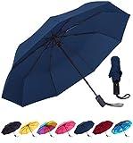 Best Mini Travel Umbrellas - Rain-Mate Travel Umbrella - Windproof, Reinforced Canopy, Ergonomic Review