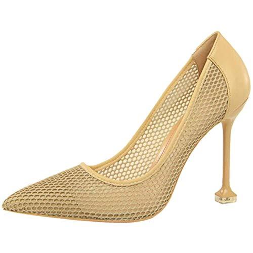 Vita Sandali Dimensione Uk Caviglia colore E 6 A Punta Con Willsego Albicocca USCFwqxEU