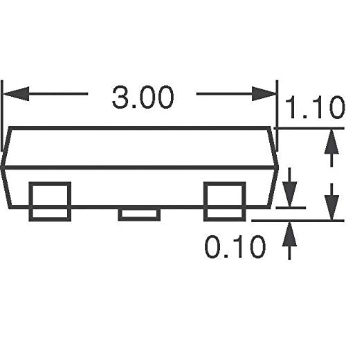 Pack of 100 MOSFET N//P-CH 20V SOT-363 DMC2004DWK-7