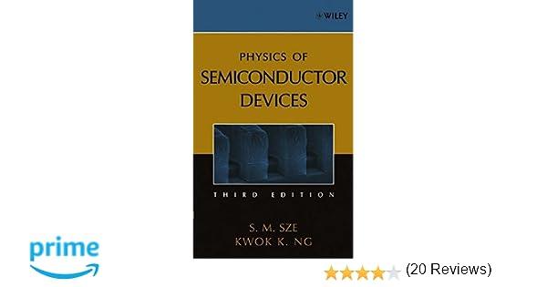 Physics of semiconductor devices simon m sze kwok k ng physics of semiconductor devices simon m sze kwok k ng 9780471143239 amazon books fandeluxe Choice Image