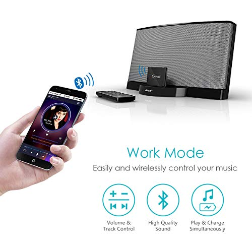 8Pin Bluetooth 4 2 Music Audio Receiver Wireless, Smof - Import It All